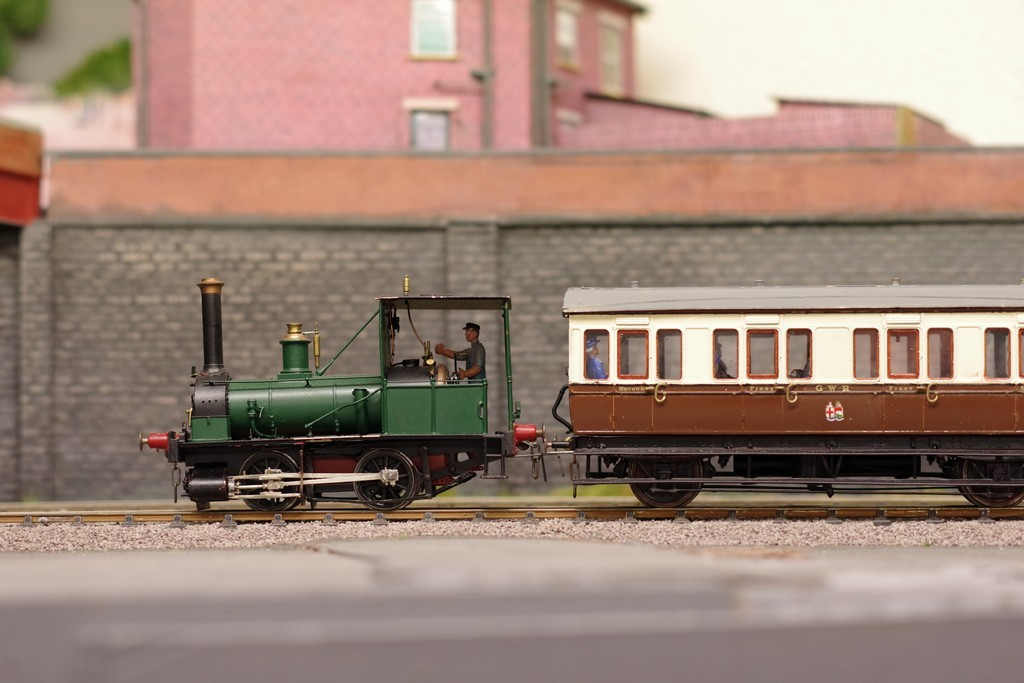 Wantage Tramway train