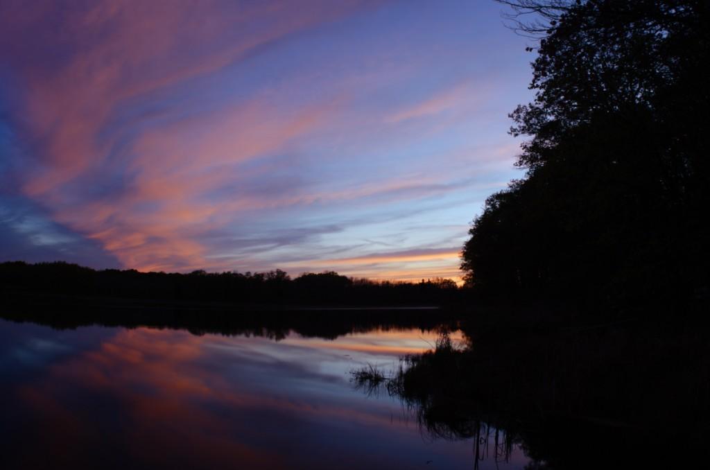 My Lake at Sunset