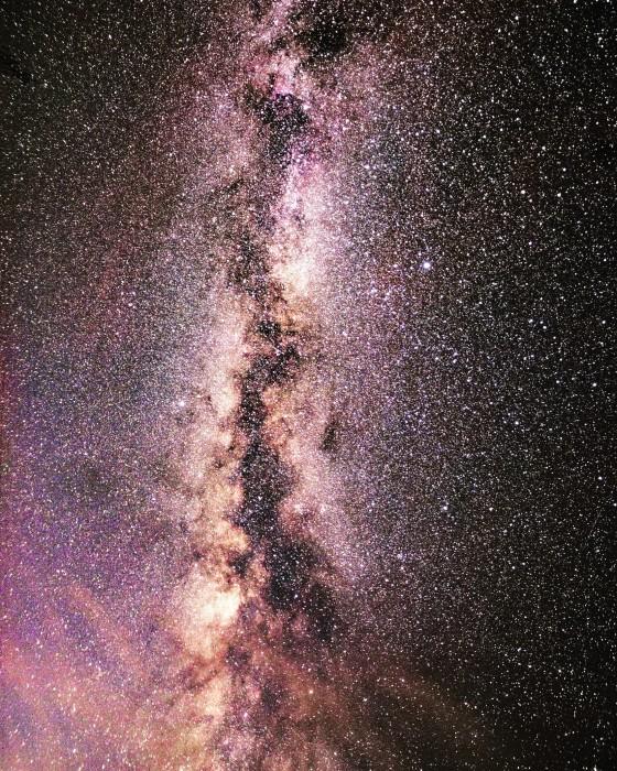 Milky Way using Pixel Shift