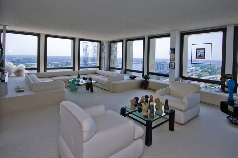 Living Room   Society Hill Towers