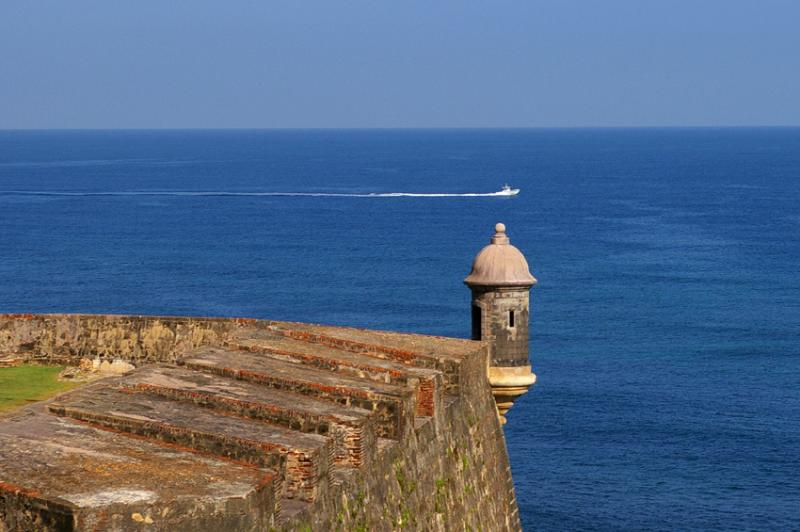 Garita, Old San Juan, Puerto Rico
