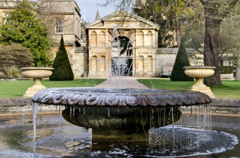 In the Botanic Garden, Oxford, UK