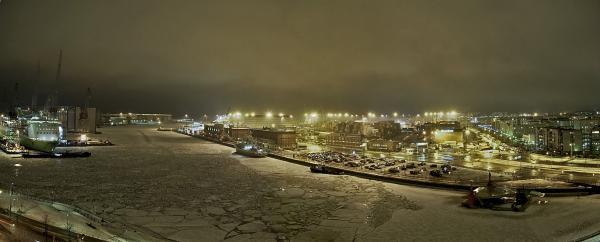 East Port of Helsinki in March