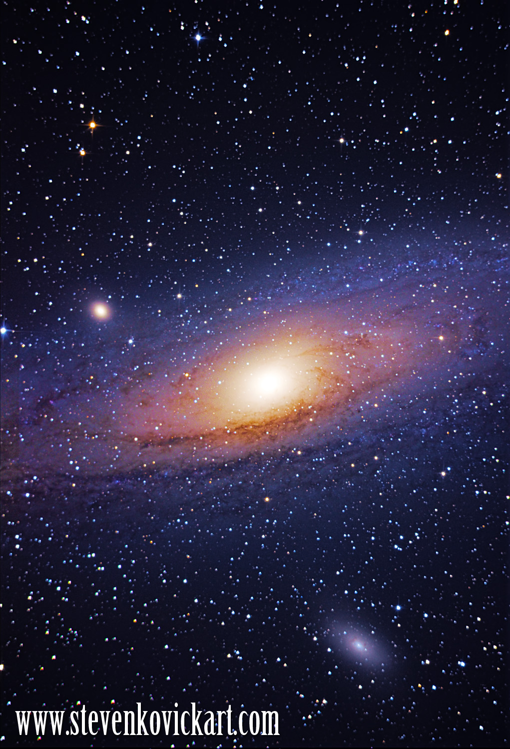 andromeda galaxy distance from earth - HD 2000×2919