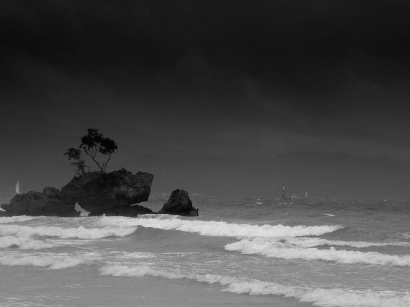 Rocks at the shore