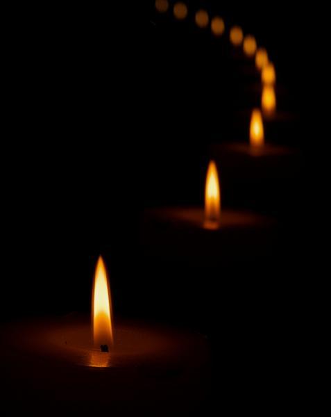 candle reflection Weekly challenge 48