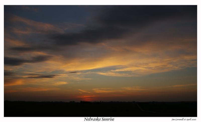 Nebraska Sunrise 01 14 April 2010