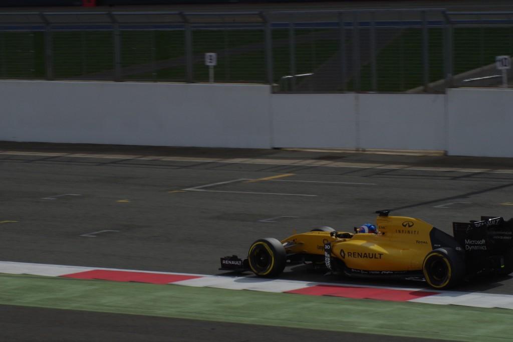 Renault film day @ Silverstone