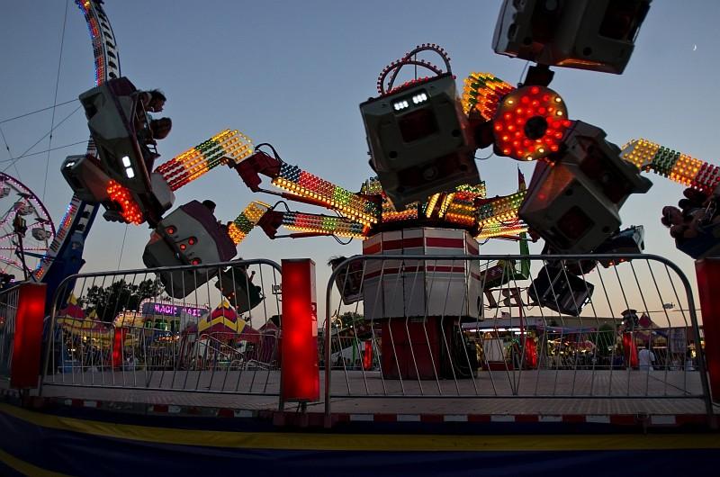 Carnival ride visit