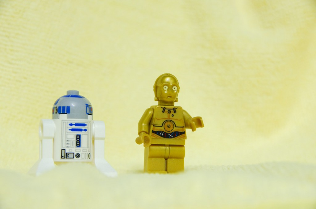 Lego Star Wars - R2D2 and C3PO