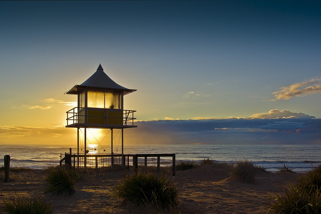 Lifeguard Tower at The Entrance Beach