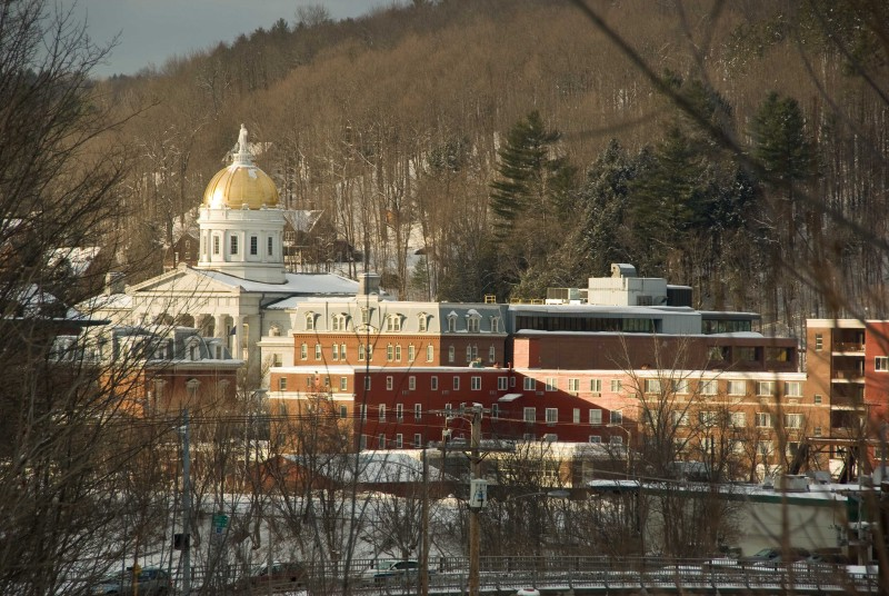 Late Afternoon Montpelier, Vermont