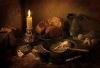 An Earthly Meal by Candlelight
