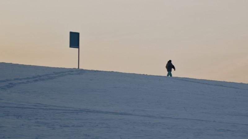 walking in the frost