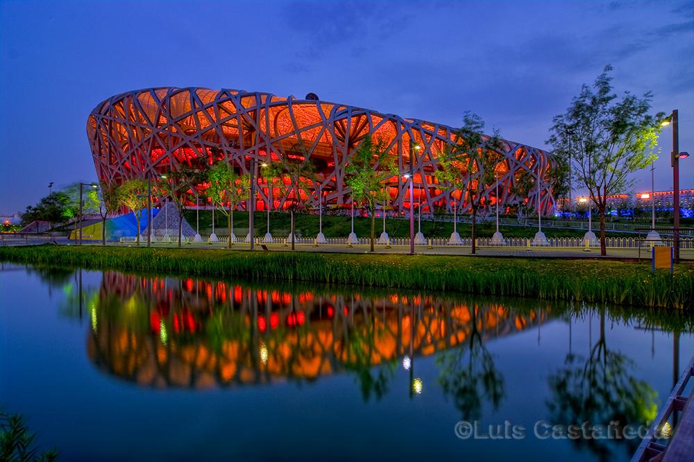 Beijing national stadium the bird 39 s nest beijing for The nest beijing