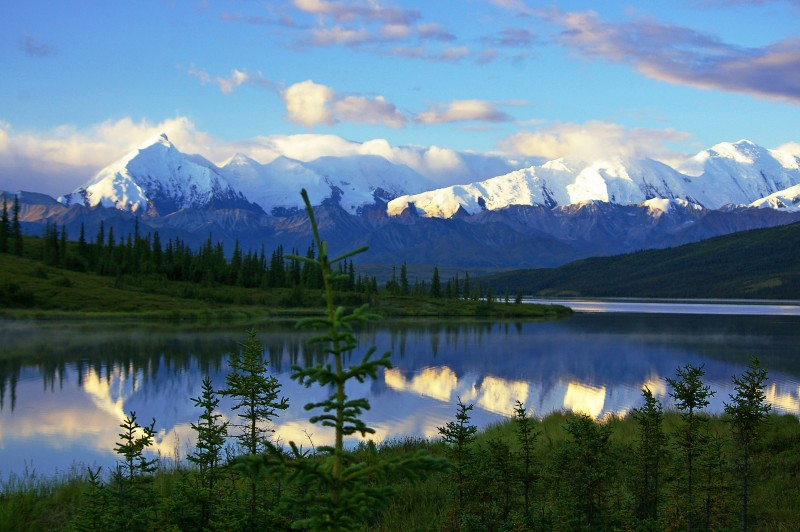 Wonder Lake, Denali National Park
