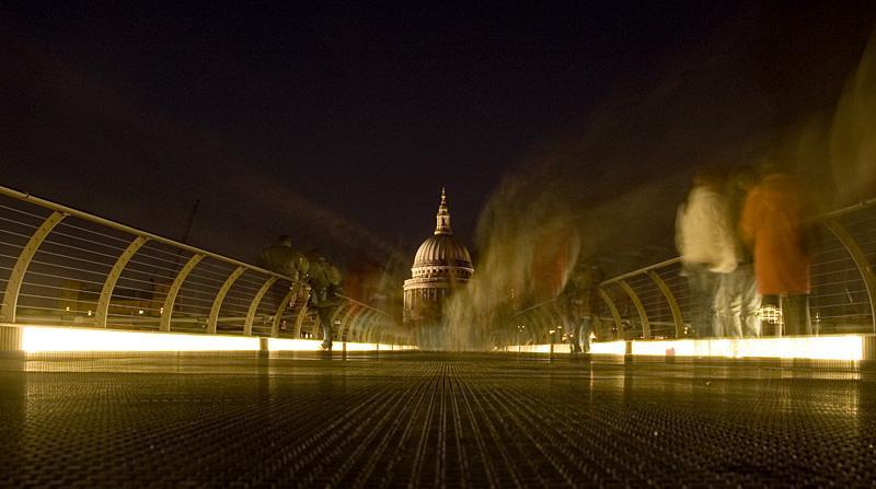 Night Scene in London