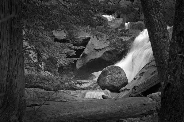 Rock, Trees & Falls, Squamish, British Columbia 2009