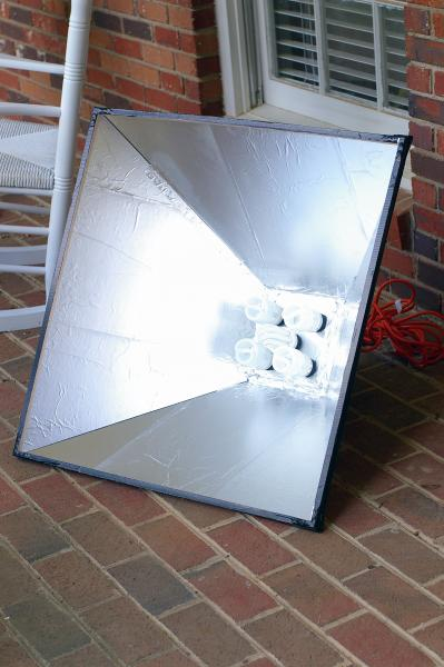 DIY Spider Light w/SoftBox Part2 - PentaxForums.