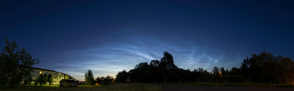 Noctilucent Clouds in Saaremaa