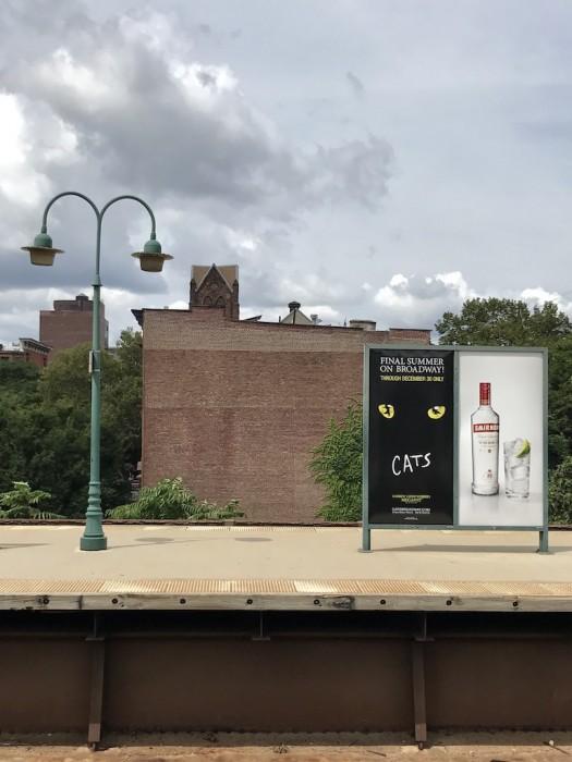 Harlem Station going home...