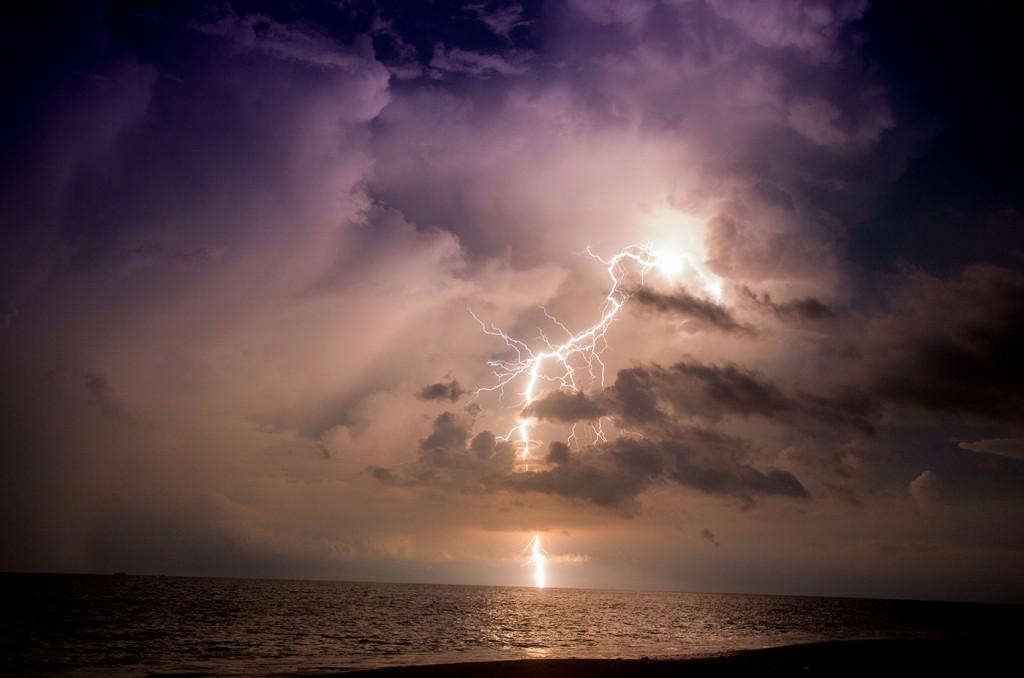 Lighting Strike/ Thunderstorm over Koh Lanta