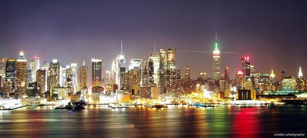 New York Skyline @ Night