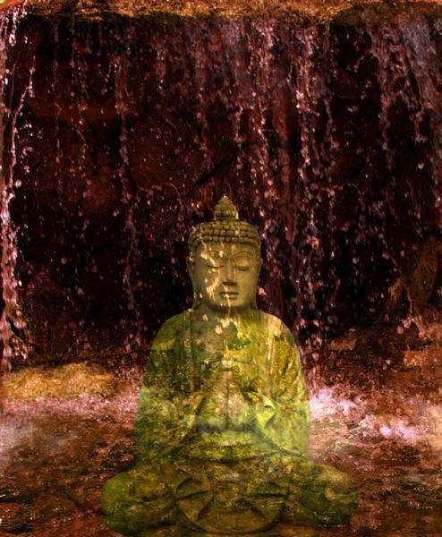 Budha in falls