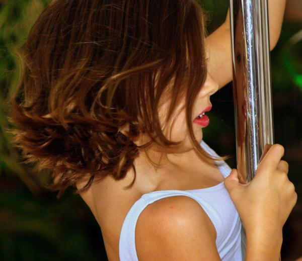 Grace n the pole reflection