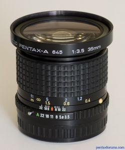SMC Pentax-A 645 35mm F3.5