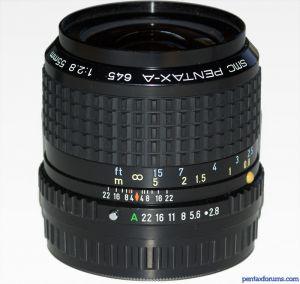 SMC Pentax-A 645 55mm F2.8