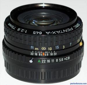 SMC Pentax-A 645 75mm F2.8
