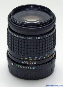 SMC Pentax-A 645 150mm F3.5