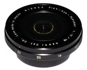Fish-Eye-Takumar 18mm F11