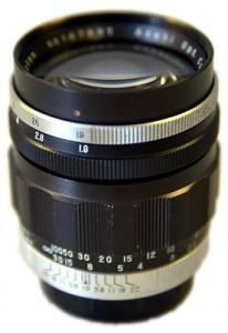 Takumar 83mm F1.9