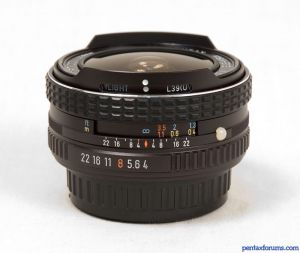 SMC Pentax 17mm F4 Fish-Eye