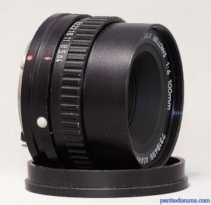 SMC Pentax 100mm F4 Bellows