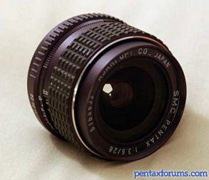 SMC Pentax 28mm F3.5