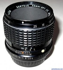SMC Pentax 50mm F4 Macro