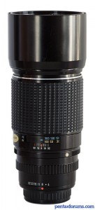 SMC Pentax 300mm F4