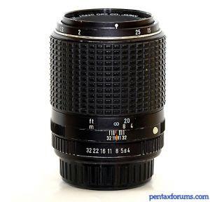SMC Pentax-M 100mm F4 Macro