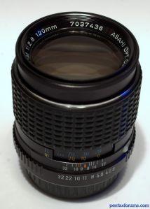 SMC Pentax-M 120mm F2.8