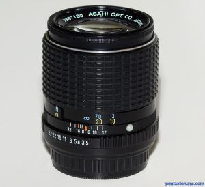 SMC Pentax-M 135mm F3.5