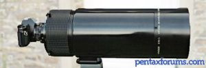 SMC Pentax-M Reflex 2000mm F13.5