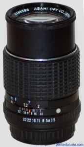 SMC Pentax-M 150mm F3.5