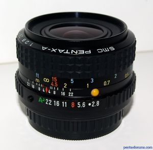 SMC Pentax-A 35mm F2.8