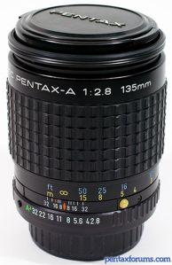 SMC Pentax-A 135mm F2.8
