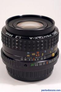 SMC Pentax-A 35mm F2