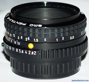 SMC Pentax-A 50mm F2