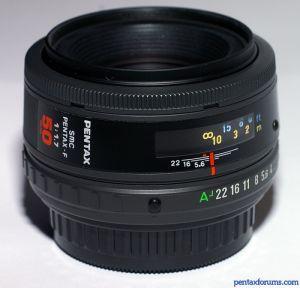 SMC Pentax-F 50mm F1.7